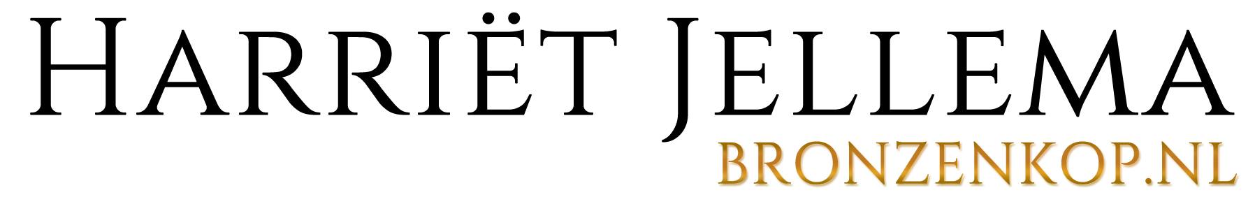 Beeldhouwster Harriët Jellema logo